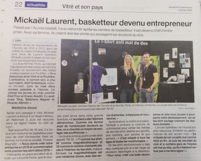 article in the press Ouest France